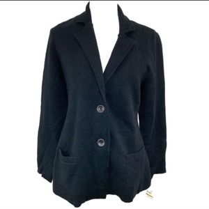 Charter Club Button Sweater Blazer